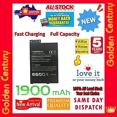 AU26.95 • Buy Fast Charing Battery For Amazon Kindle 3 III 3G WIFI D00901 Keyboard 170-1032-01