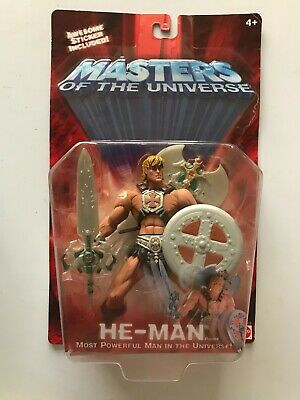 $0.99 • Buy Masters Of The Universe He-Man Most Powerful 2001 Action Figure New W Creasing
