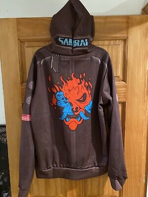 $ CDN40.08 • Buy Cyber Punk 2077 Pull-over  Hoodie Sweatshirt Jacket Pre-owned Med-lg