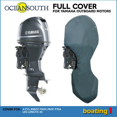 AU80.99 • Buy Full Cover For Yamaha Outboard Motor Engine 4CYL 996CC F50H-F70A (2010>) - 20