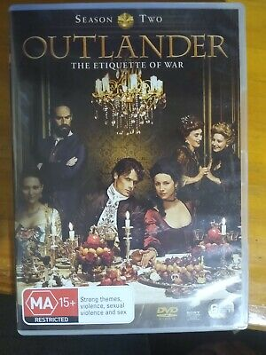 AU7.50 • Buy Outlander, Dvd Season 2