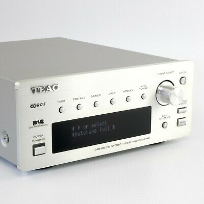 TEAC T-H300 DAB AM FM MKII 2 | Reference 300 Series Stereo Hi-Fi Player | Silver • 169.95£