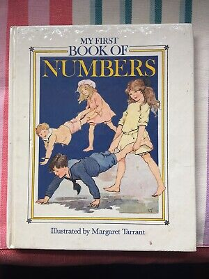 1989*1st* Vintage My First Book Of Numbers Margaret Tarrant Tiger Books • 7£