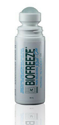 Biofreeze 3oz Roll On Gel Sports Pain Relieving Gel ✅ FREE UK SHIPPING ✅ • 14.95£