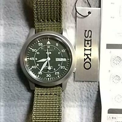 $ CDN251.08 • Buy SEIKO SEIKO5 SNK805K2 Military Type Wristwatch  [4-637