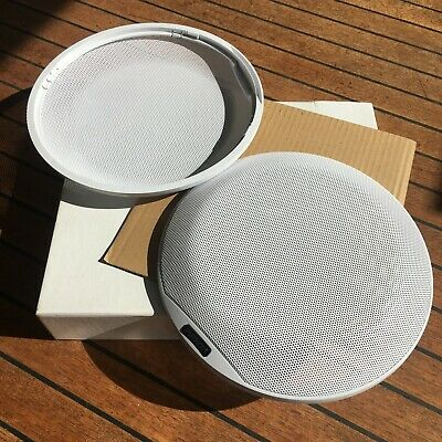 Fusion Signature Series 8.8'' Classic White Speaker Grille Only (Pair) • 30£