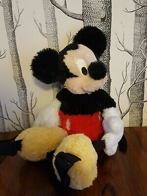Mickey Mouse Plush Novelty Backpack • 6£