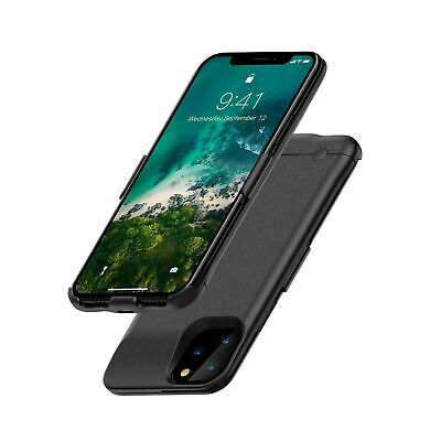 External 5200mAh Battery Charger Case For IPhone 11 Pro Max Charging Power Cover • 15.99£