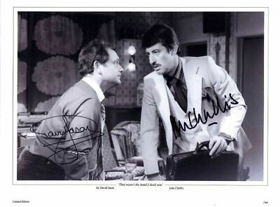 £179.99 • Buy Only Fools And Horses That Wasn't The Hand Ltd Edn Signed David Jason J Challis