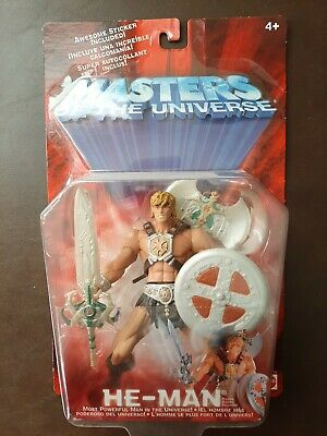$39 • Buy He-Man Masters Of The Universe He-Man MOTU 2001 Figure 54912 New