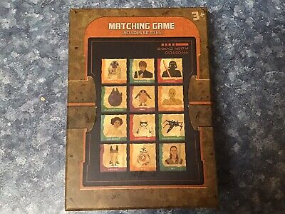 Star Wars Galaxy's Edge Matching Game 60 Tiles Batuu Disneyland Toydarian New • 13.75£