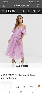 AU40 • Buy New Asos Fuchsia Dress 14