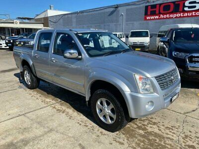 AU12950 • Buy 2007 Holden Rodeo RA LT Silver Automatic A Utility