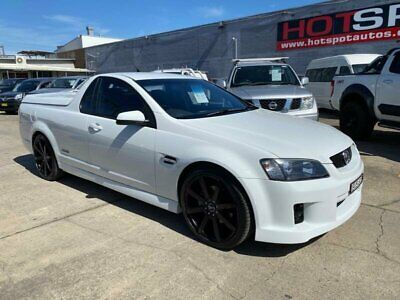 AU24950 • Buy 2010 Holden Ute VE SS V White Automatic A Utility