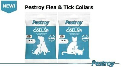 Bob Martin Clear Flea & Tick Collar For Dogs And Puppies Cat & Kittens • 2.95£