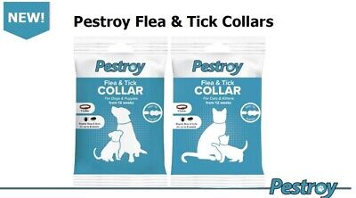 £3.95 • Buy Bob Martin Pestroy Flea & Tick Collar For Dogs And Puppies Cat & Kittens