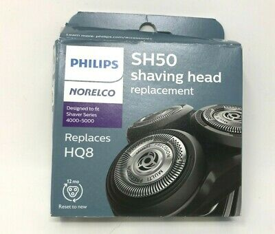 $ CDN29.01 • Buy Philips Norelco 3 Replacement Shaving Heads Series 4000-5000 Shavers SH50/52 HQ8