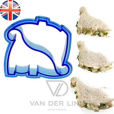 Dinosaur Shape Sandwich Bread Cutter Kids Lunch Mould • 3.38£