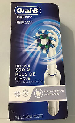 AU53.44 • Buy Oral-B Pro 1000 3d Cross Action Rechargeable Toothbrush Sealed Box