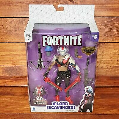$ CDN53.44 • Buy 2020 Fortnite Legendary Series 6 - X-Lord Scavenger Action Figure Pack Toy 6""