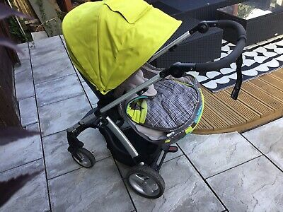 £50 • Buy Mamas & Papas Sola 2 Pushchair With Footmuff In Green, Carseat And Carrycot