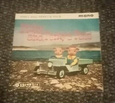 Pinky And Perky's Pals Very Rare- Original Mono 7  Ep  Picture Sleeve • 3.95£