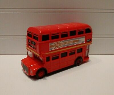 $ CDN19.14 • Buy Disney Pixar Cars 1:55 Scale Diecast Crosshead Double Decker Deckington Bus