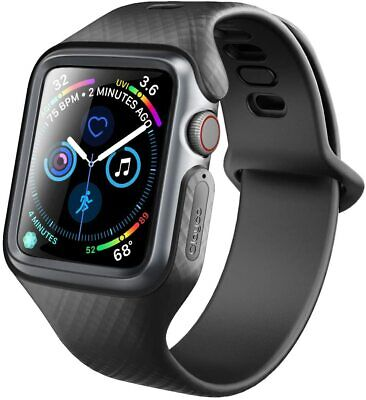 $ CDN18.93 • Buy Clayco For Apple Watch Series 6/SE/5/4 2020 Smart Watch Strap Band Case BLACK