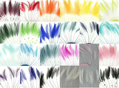 £3.89 • Buy Hackle Coque Feather Fringe For Fascinators, Hats, Millinery,Costumes And Sewing
