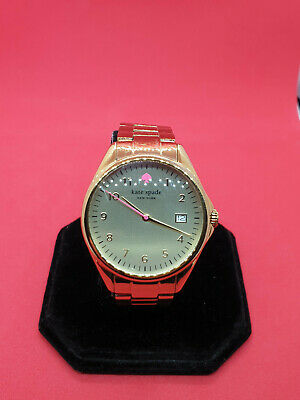 $ CDN166.60 • Buy Kate Spade New York Gold Tone Bracelet Watch Live Colorfully,date Display.#116.