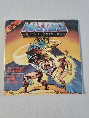 $9.90 • Buy Masters Of The Universe 2 Stories With Record 33 1/3 Rpm 1983 Mattel