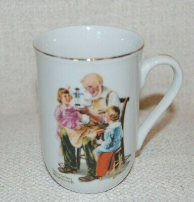$ CDN13.89 • Buy Norman Rockwell Museum Collection  The Toymaker Porcelain Coffee Mug 1982