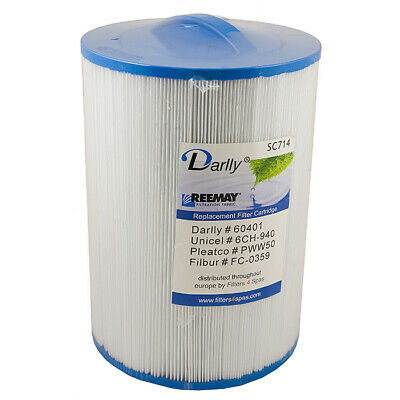 PWW50 Filter - Quality Hot Tub Darlly Spa Replacement • 25£