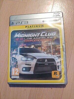 Midnight Club: Los Angeles -- Complete Edition (Platinum) (Sony PlayStation 3, … • 2.50£
