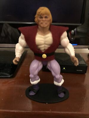 $17.50 • Buy MOTU Masters Of The Universe He-man Prince Adam Repro Vest With Belt Filmation