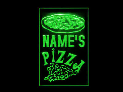 £18.49 • Buy 270062 Pizza Shop Personalized Your Text Display LED Light Sign