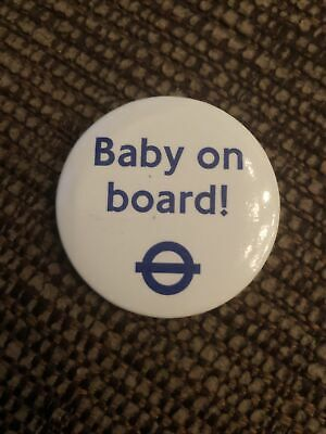 Baby On Bord Badge From TfL New Unused • 0.95£
