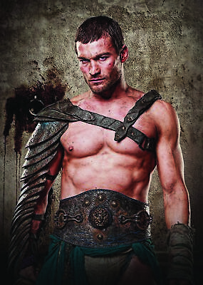 Spartacus Blood And Sand Andy Whitfield Poster Art Print • 5.99£