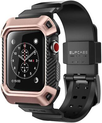 $ CDN22.51 • Buy For Apple Watch Series 3 2 1, SUPCASE Wristwatch Band Unisex Rugged Sporty Strap