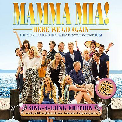 Mama Mia! Here We Go Again - Sing Along Edition [CD] • 4.21£