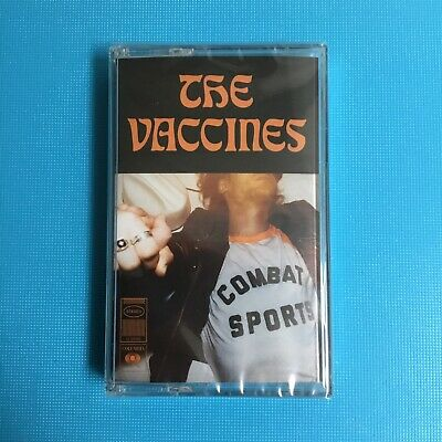 THE VACCINES - Combat Sport - 2018 Cassette Album *New Sealed* • 5.95£
