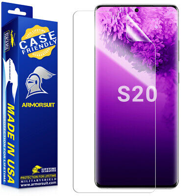 $ CDN11.03 • Buy Armorsuit Samsung Galaxy Screen Protector Note 20 Ultra Note10 S20 S10+ S9+ S8+