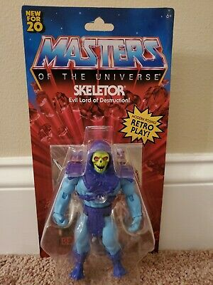 $0.99 • Buy Masters Of The Universe He-man Origins Skeletor Action Figure Retro 2020 Mattel