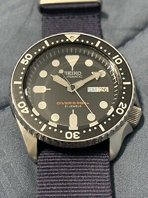 $ CDN429.03 • Buy Seiko Automatic Black Dial Men's Watch SKX007J1