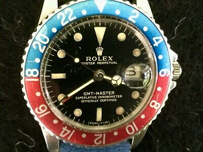 $ CDN30261.22 • Buy Early 1966 Rolex GMT Master 1675 Gilt Dial