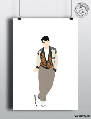 £12 • Buy FERRIS BUELLER - Day Off - 80's Icon Characters Poster Minimal Print Art Design