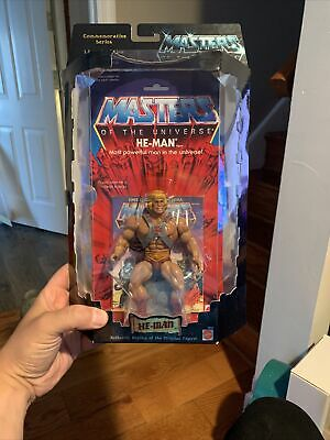 $125 • Buy Masters Of The Universe Commemorative Series He-Man MOC