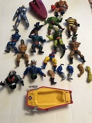 $5 • Buy Vintage MOTU Master Of The Universe & Others Action Figures Parts Lot
