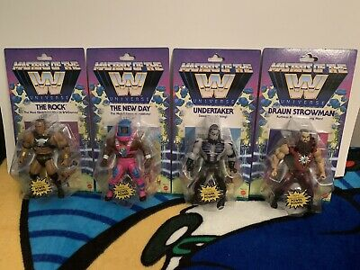 $129.99 • Buy WWE Masters Of The Universe COMPLETE SET WAVE 3 ROCK UNDERTAKER NEW DAY Strowman