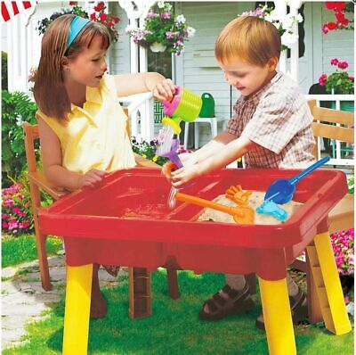 £39.99 • Buy New Sun And Fun Sand & Water Garden With Moulds(Can,Bucket,Tray,Rake,Spade)
